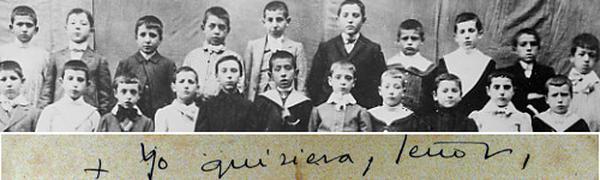 Centenaire de la première Communion de saint Josémaria
