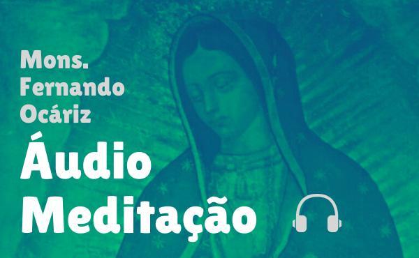 """Meditação em áudio do prelado: """"Mãe de Deus e nossa esperança"""""""