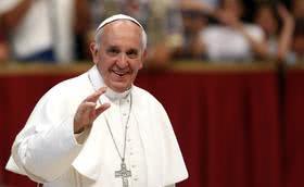 El Papa Francisco recibe al Prelado