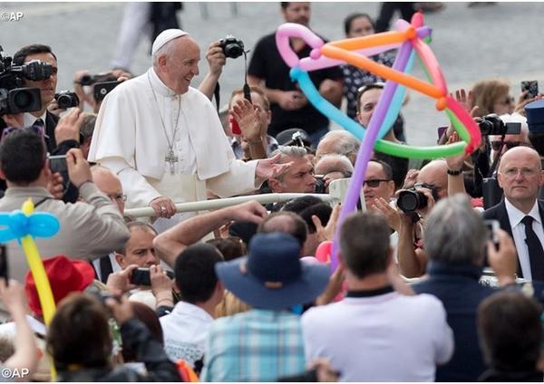 Pápežova audiencia o roku milosrdenstva (6. april 2016)