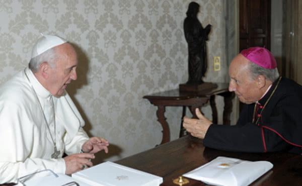 Opus Dei - Prelaat Opus Dei opnieuw bij paus Franciscus