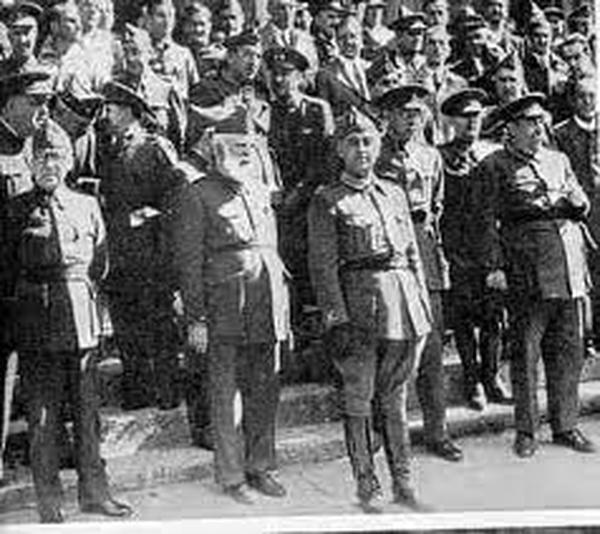 Welche Haltung nahm er während des Bürgerkrieges zu Franco und seinem Vorgehen ein?