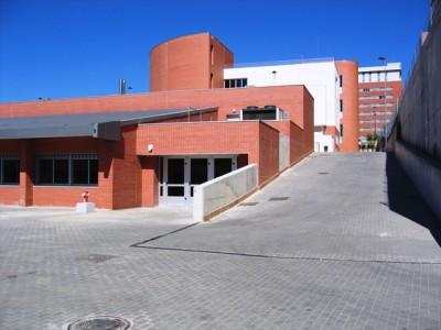 Vista parcial del colegio Fuenllana