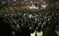 La Iglesia española despide a Javier Echevarría, prelado del Opus Dei