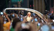 O primeiro dia do Papa no Brasil