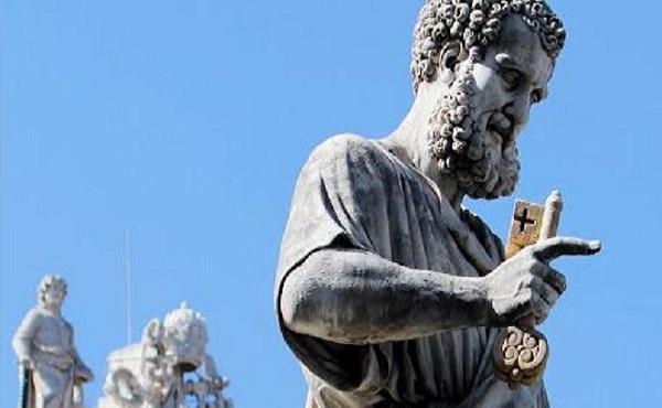 Porque é que o Papa é Pedro?