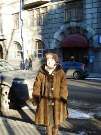 Klädd för den ryska vintern.