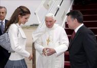Benedicto XVI en Jordania