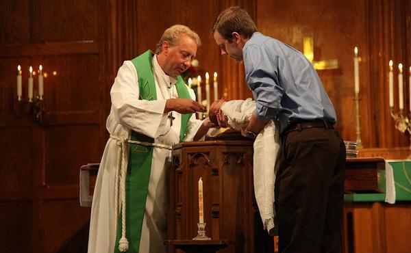 Krst mojega pravnuka