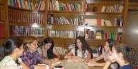 Sesión de estudio en Gardenia