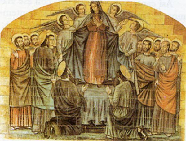 4° mystère glorieux, L'Assomption de la Vierge Marie