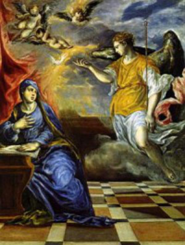 De hellige ærkeengle Michael, Gabriel og Rafael.