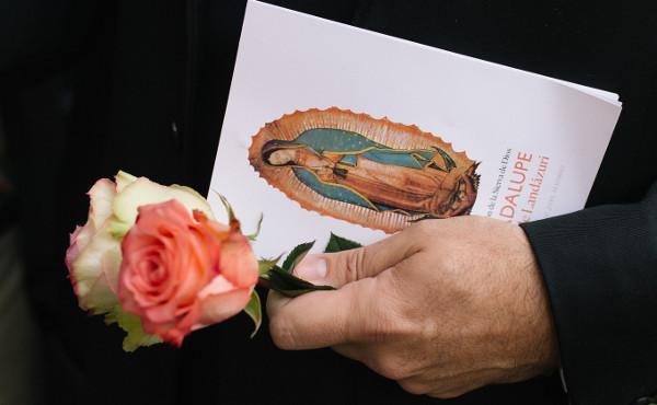 Palverännak Guadalupe pühamusse