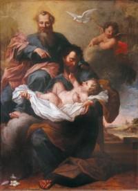 Saint Joseph et la Trinité, par Antoni Guerra
