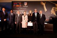 Inma Shara y el Atlético de Madrid se unen por África