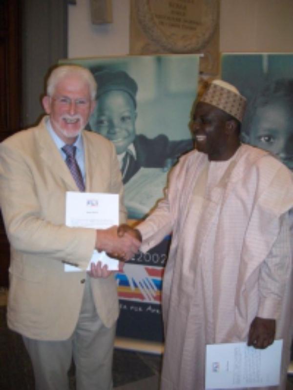 Entregado en Roma el II premio 'Comunicar África'