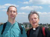 Au cours de la retraite de profession de foi pour les 5èmes, à Chartres