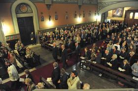 Galería de fotos del traslado de los restos de D. José María Hernández Garnica a Montalegre