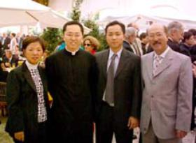 El Padre Ji Young Emiliano Hong ofició su primera Misa solemne en Argentina