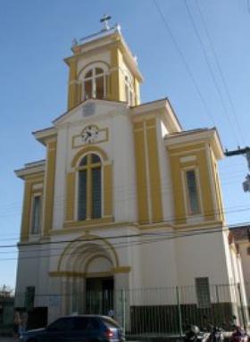 Uma imagem de São Josemaria em Goiânia