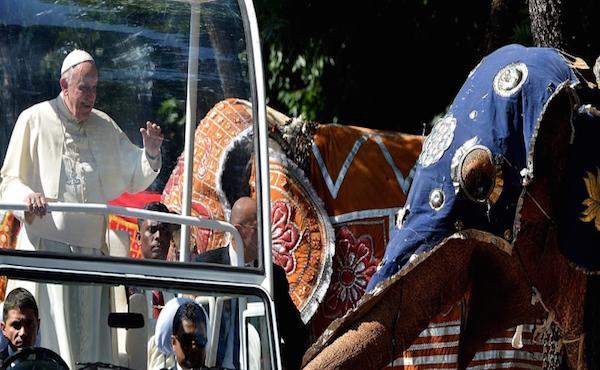 Il viaggio del Papa in Sri Lanka e nelle Filippine