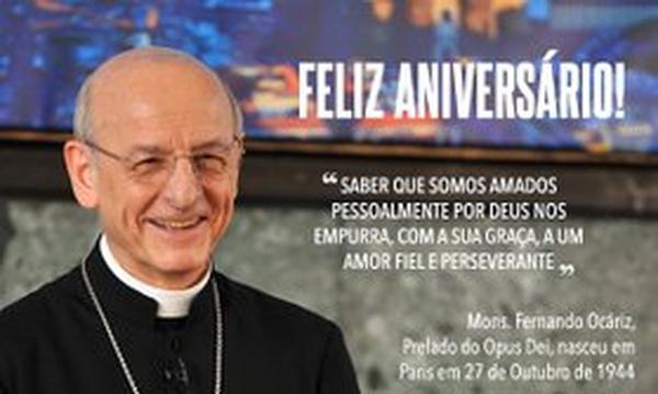 Aniversário do prelado do Opus Dei (2019)