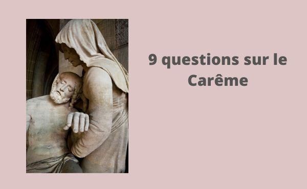 Pourquoi 40 jours de Carême?