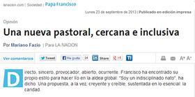 """""""Una nueva pastoral, cercana e inclusiva"""""""