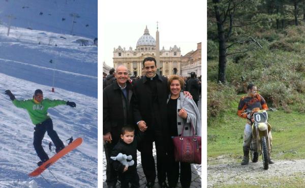 Opus Dei - Sacerdócio: boxe, triatlo e muito kitesurf