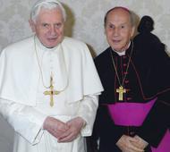 Benedikt XVI. přijal na audienci preláta Opus Dei