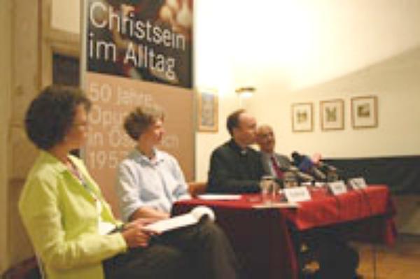 50 Jahre Opus Dei in Österreich. Pressekonferenz