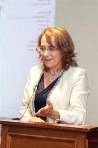 María Xosé, durante a súa conferencia