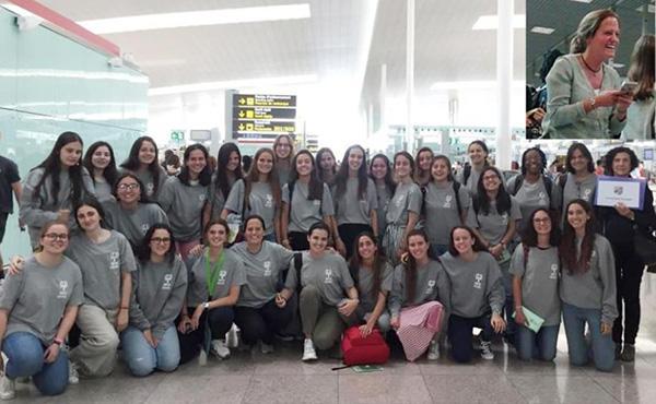 Arriba a Barcelona el primer grup de voluntàries de Costa d'Ivori