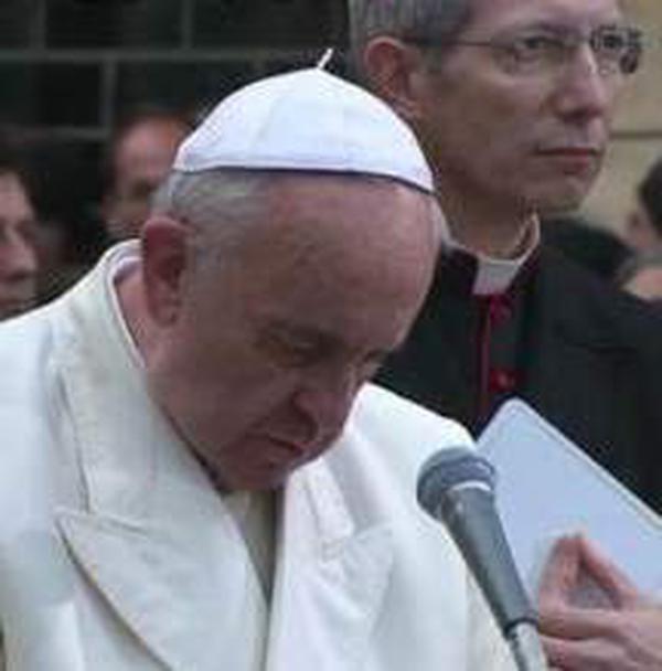 Preghiera di Papa Francesco all'Immacolata