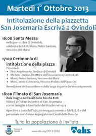 Piazzetta San Josemaria a Ovindoli