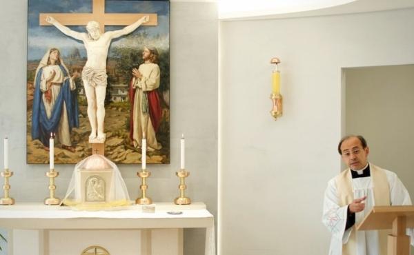 Inaugurata la nuova Cappella del Santissimo all'ELIS
