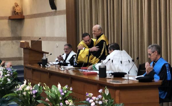 Il prelato all'inaugurazione del nuovo anno accademico della Pontificia Università della Santa Croce