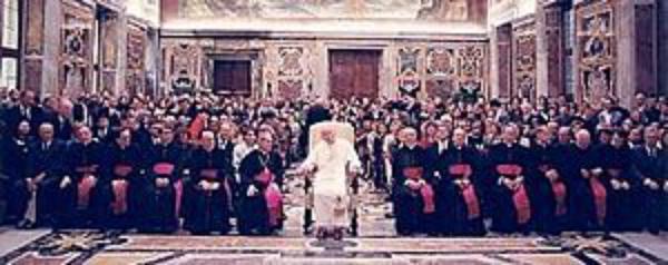 """Popiežius priima, suvažiavimo apie encikliką """"Novo Millenio ineunte"""", dalyvius"""