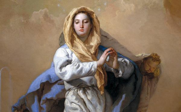 Marias bevarande för arvsynden