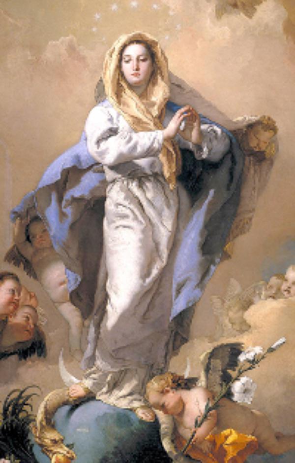 Marijino življenje: brezmadežno spočetje