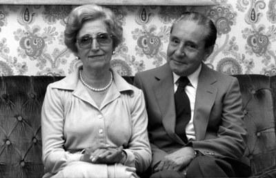 El matrimonio formado por Tomás Alvira y Paquita Domínguez fue clave en la puesta en marcha del primer club juvenil desarrollado por personas del Opus Dei en España.