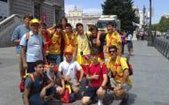 A Asociación Xuvenil Tambre de Pontevedra participou tamén na JMJ