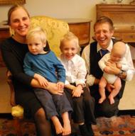 God vinden, als echtgenote, moeder en arts