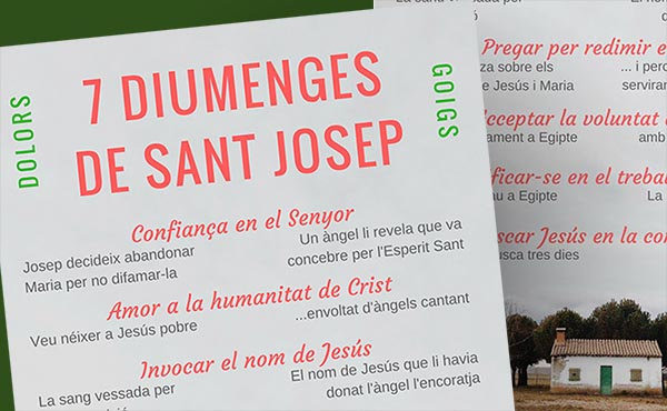 Opus Dei - Els set diumenges de sant Josep