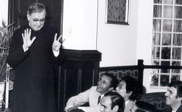 O fundador do Opus Dei em São Paulo