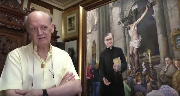 """""""Malování svatého Josemaríi mě přiblížilo k Bohu"""""""