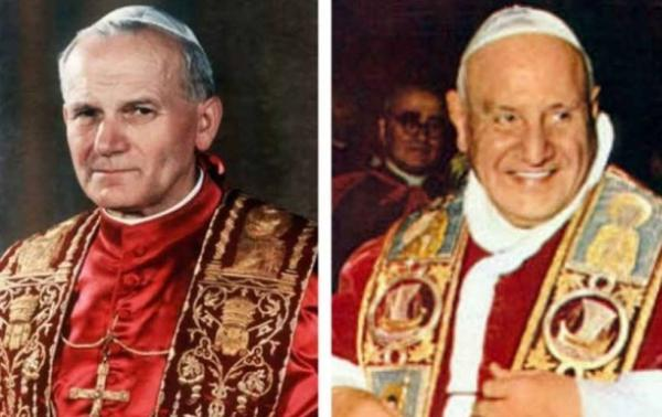John XXIII and John Paul II: two holy Popes, two Marian saints
