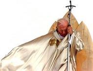 A entrega de João Paulo II