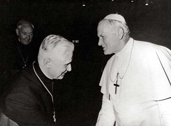 Prière à Jean-Paul II