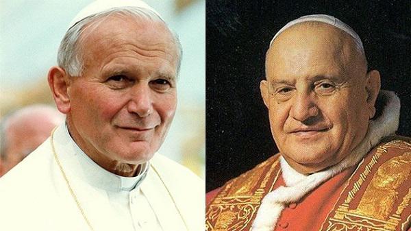 La canonització de Joan XXIII i Joan Pau II a les xarxes socials